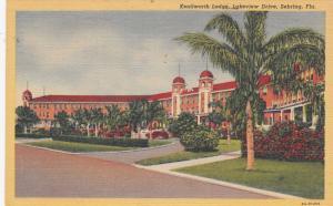 SEBRING, Florida, PU-1948; Kenilworth Lodge, Lakeview Drive