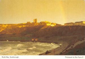 Scarborough Postcard, North Bay & Castle, North Yorkshire by Max Payne O69