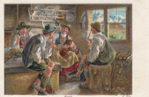AS; E. Rau., 1901-07; Rivals, TUCK Continental Art # 4112
