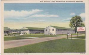 Kentucky Morganfield Post Hospital Camp Breckenridge Curteich