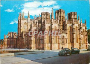 Modern Postcard Portugal Batalha Monastery South Side