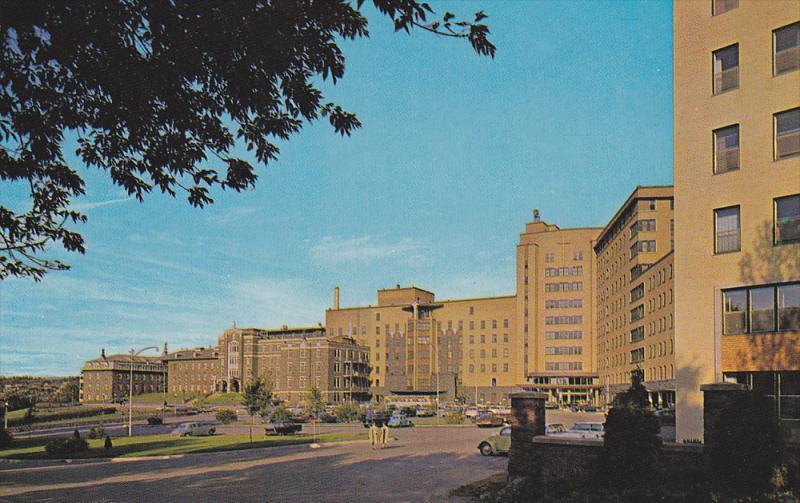 CHICOUTIMI , Quebec , Canada , 50-60s ; Hotel-Dieu St-Vallier Hospital