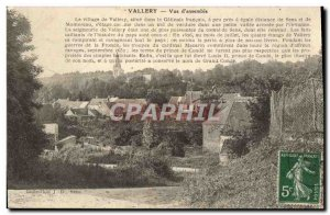 Old Postcard View Vallery d & # 39ensemble The village of Vallery is in the f...