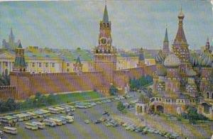 Russia Moscow The Kremlin Walls and Towers