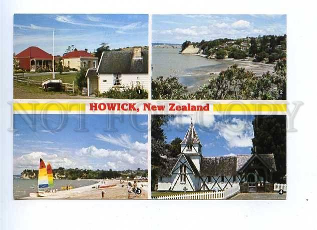 179354 HOWICK NEW ZEALAND old postcard