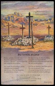 Germany 1915 WWI SW Africa Deutsche Suedwestafrika Graves 77640