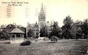 Fort Wayne, Indiana - The School for Feeble Minded Youth - in 1911