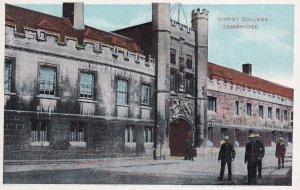 CAMBRIDGE, Cambridgeshire, England, 1900-1910s; Christ College