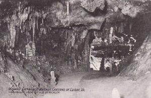 Midway Entrance Avenue Caverns Of Luray Virginia