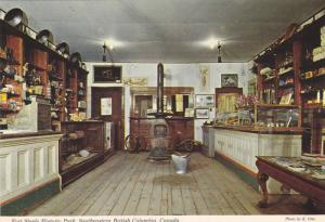 The Trading Post,  Fort Steele Historic Park,  Southeastern B.C.,  Canada, ...