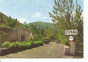 Postal 048282 : Valls dAndorra. Frontiere Hispano Andorrana