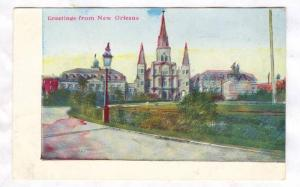 Scene, Greetings From New Orleans, Louisiana, 1910-1920s