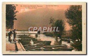 Old Postcard Aix les Bains Savoie Grand Harbor