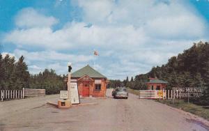 Entrance , Riding Mt National Park , Manitoba , Canada , PU-1956