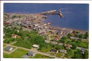 Aerial, Digby, Nova Scotia, Canada,