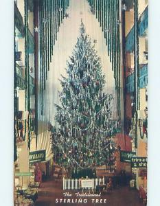 Pre-1980 STERLING LINDNER DAVIS CHRISTMAS TREE Cleveland Ohio OH hn3904-22