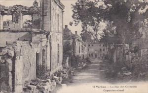 France Verdun La Rue des Capucins