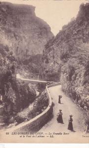 La Nouvelle Route Et Le Pont De l'Abime, LES GORGES DU LOUP, France, 1900-1910s