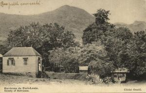 mauritius maurice, PORT-LOUIS, House in the Surroundings (1910s) Postcard