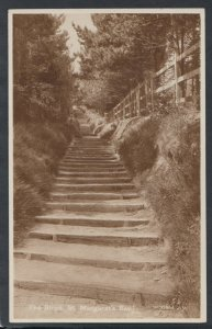 Kent Postcard - The Steps, St Margaret's Bay    T3338