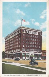 HURON , South Dakota , 1910s ; Marvin Hughitt Hotel & Elks Club