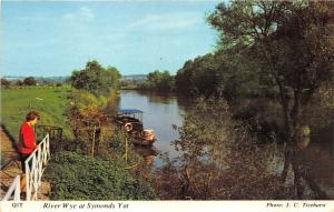 B88333 river wye at symonds yat  uk 14x9cm