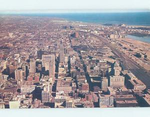 Pre-1980 RAILWAY LANDS BY THE HARBOR AERIAL VIEW Toronto Ontario ON A5314
