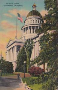 State Capitol Building Sacramento California 1941