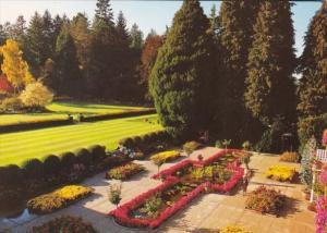 Canada Victoria The Italian Garden At Butchart Gardens
