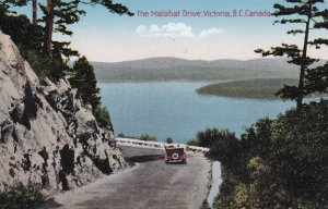 VICTORIA, British Columbia, Canada, PU-1937; The Malahat Drive