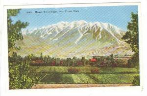 Mount Timpanogos, near Provo, Utah, 00-10s