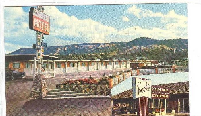 Harold´s Dining Room & Coffee Shop, Courtesy Inn Motel, Kamloops, British Co...