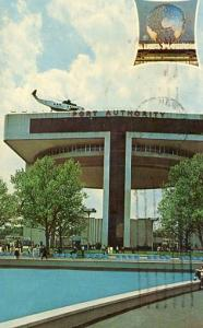 NY - New York City. New York World's Fair 1964-1965. NY Port Authority Helipo...