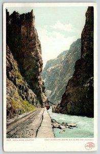 Royal Gorge Colorado~Detroit Publishing #5107~1901© Copyright~1910 Postcard