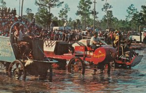 NAPLES , Florida, 1950-60s ; Start of Swamp Buggy Race