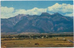 Northern Pacific Railway View of St. Ignatius Montana MT