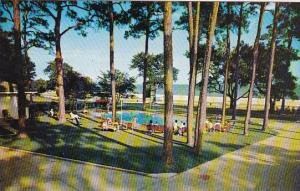 Mississippi Biloxi Sea Gul Tourist Court With Pool