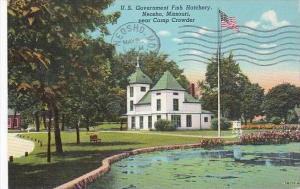 Missouri Neosho U S Government Fish Hatchery 1946