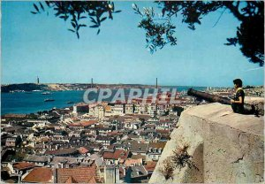 Postcard Modern Lisboa Castelo de S Jorge