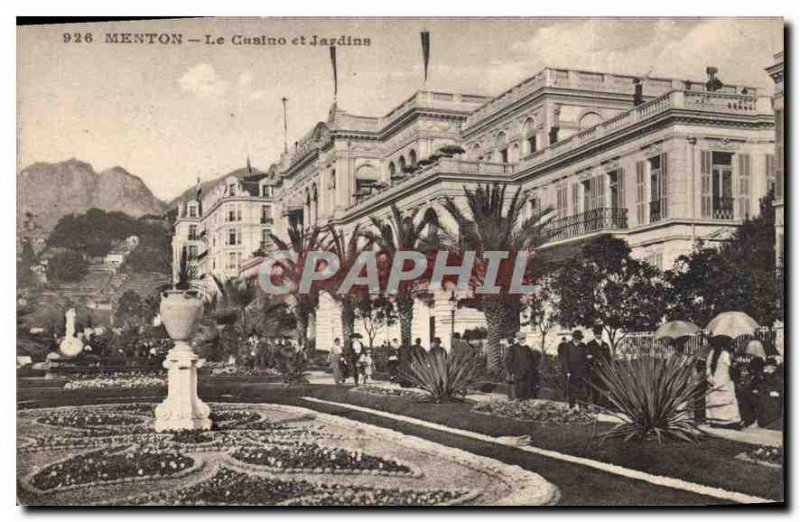 Postcard Old Chin Casino and Gardens