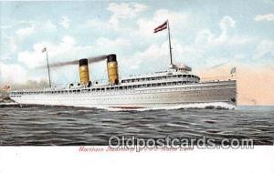 Northern Steamship Co's SS North Land  Ship Postcard Post Card Postcard Post ...