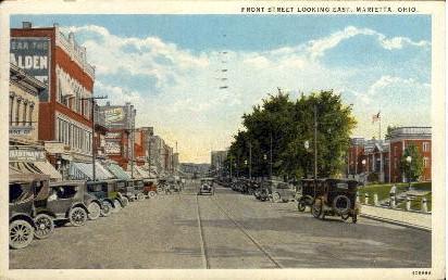 Front Street Marietta OH 1934