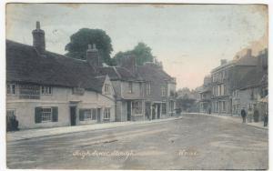 Berkshire; High St, Slough PPC, 1904 PMK, Note Black Boy Pub, Demolished c 1910