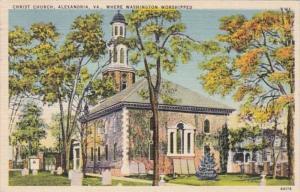 Virginia Alexandria Christ Church 1949