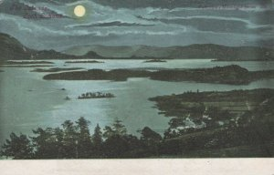 Scotland Postcard - Moonlight Over The Islands, Loch Lomond   RS22419