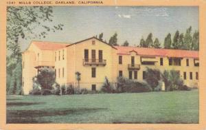 Oakland, California 1930-40s ; Mills College, Ladies Seminary
