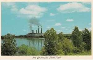 New Johnsonville Steam Plant , Tennessee River , 50-60s