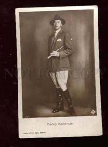 006939 Georg ALEXANDER German MOVIE Star Vintage PHOTO PC