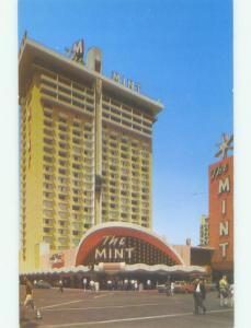 Unused Pre-1980 THE MINT CASINO HOTEL Las Vegas Nevada NV hr7176