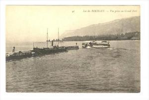 Vue Prise Au Grand Port, Lac du Bourget (Savoie), France, 1900-1910s
